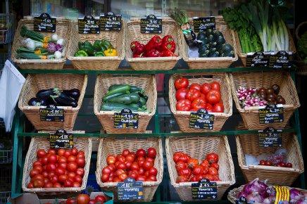 des légumes bio et à bas prix / Flickr Morpholux