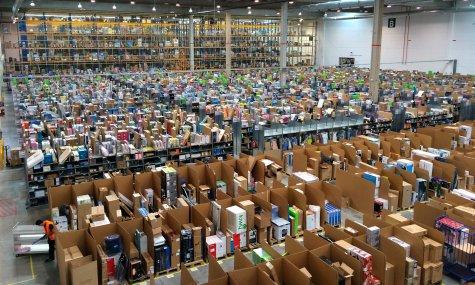 Entrepôt d'Amazon Crédits Alvaro Ibanez