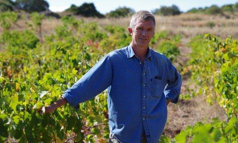 Stéphane Monmousseau, vigneron à la Grange de Bouys Crédits DB