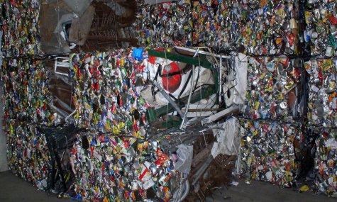 Recyclage d'ordures Crédits blahedo