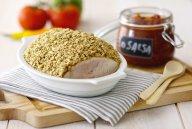 Filet de dinde en croûte d'avoine, sauce salsa DR Mon quotidien autrement