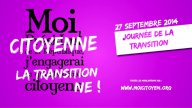 27 septembre 2014, journée de la transition citoyenne