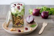 salade de pois chiches et féta - DR Mon Quotidien Autrement - E. Montuclard