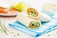 Wraps au saumon et fromage frais - DR Mon Quotidien Autrement - E. Montuclard