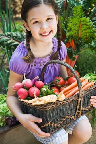 Mes enfants aiment les légumes !