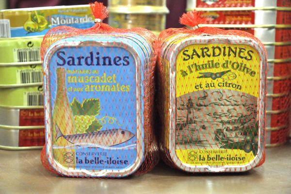 Terrine de sardines