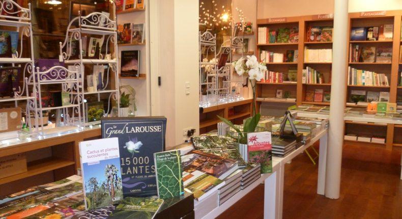Les jardins d'Olivier, une librairie 100% nature