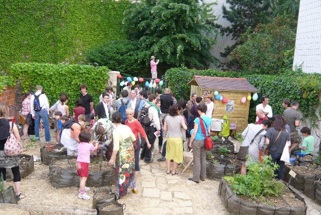 Jardin Baudélire, Paris 18 ème