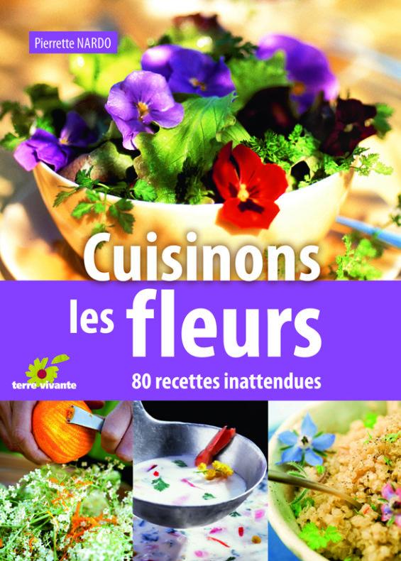 Cuisinons les fleurs, de Pierrette Nardo