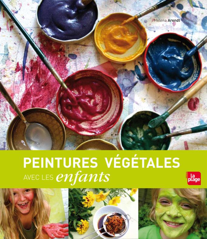 Peintures végétales avec les enfants, d'Helena Arendt