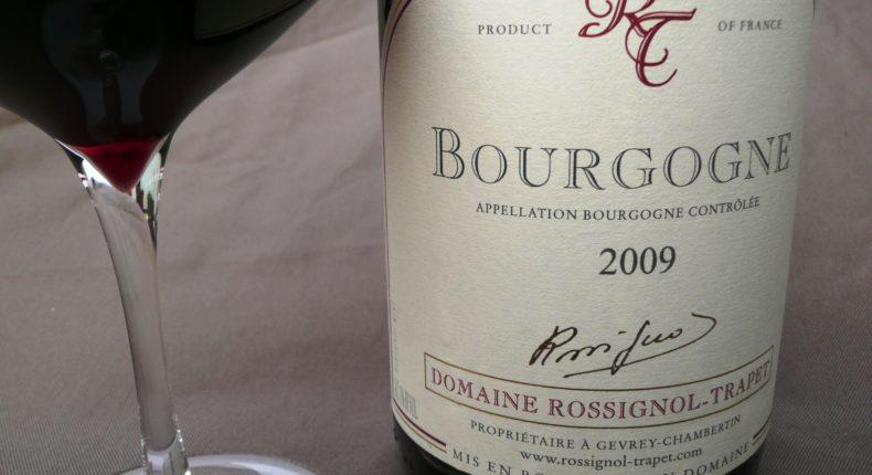 """Un bon Bourgogne pour accompagner notre parmentier """"lendemain de Noël""""."""