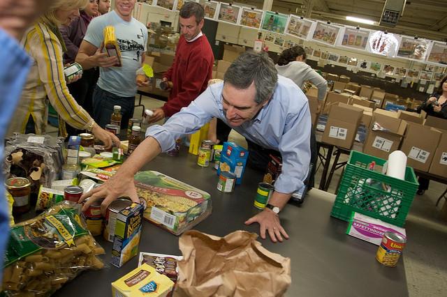 Détresse sur les banques alimentaires