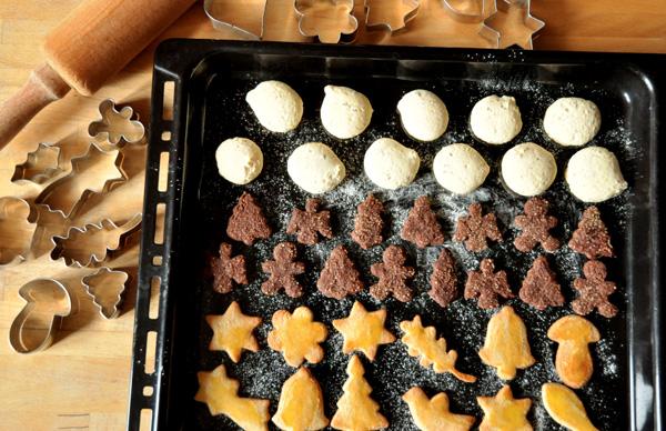 Petits gâteaux de Noël :  les Brünsli