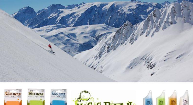 Faîtes glisser vos skis sans détruire la montagne.