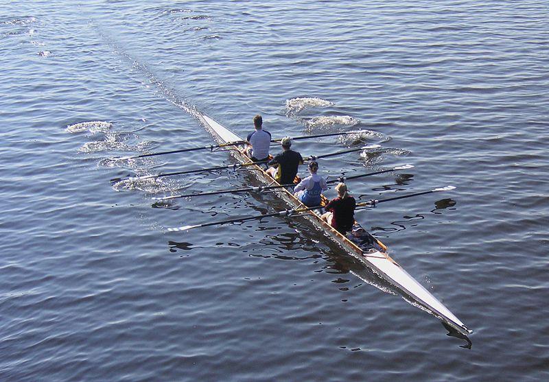 L'aviron, sport du coeur