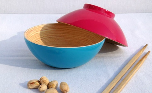 Les bols en bambou Bibol