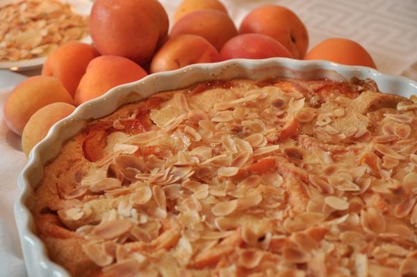 Clafoutis abricots-amandes
