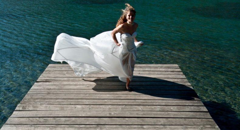 Ecolo, même le jour de son mariage