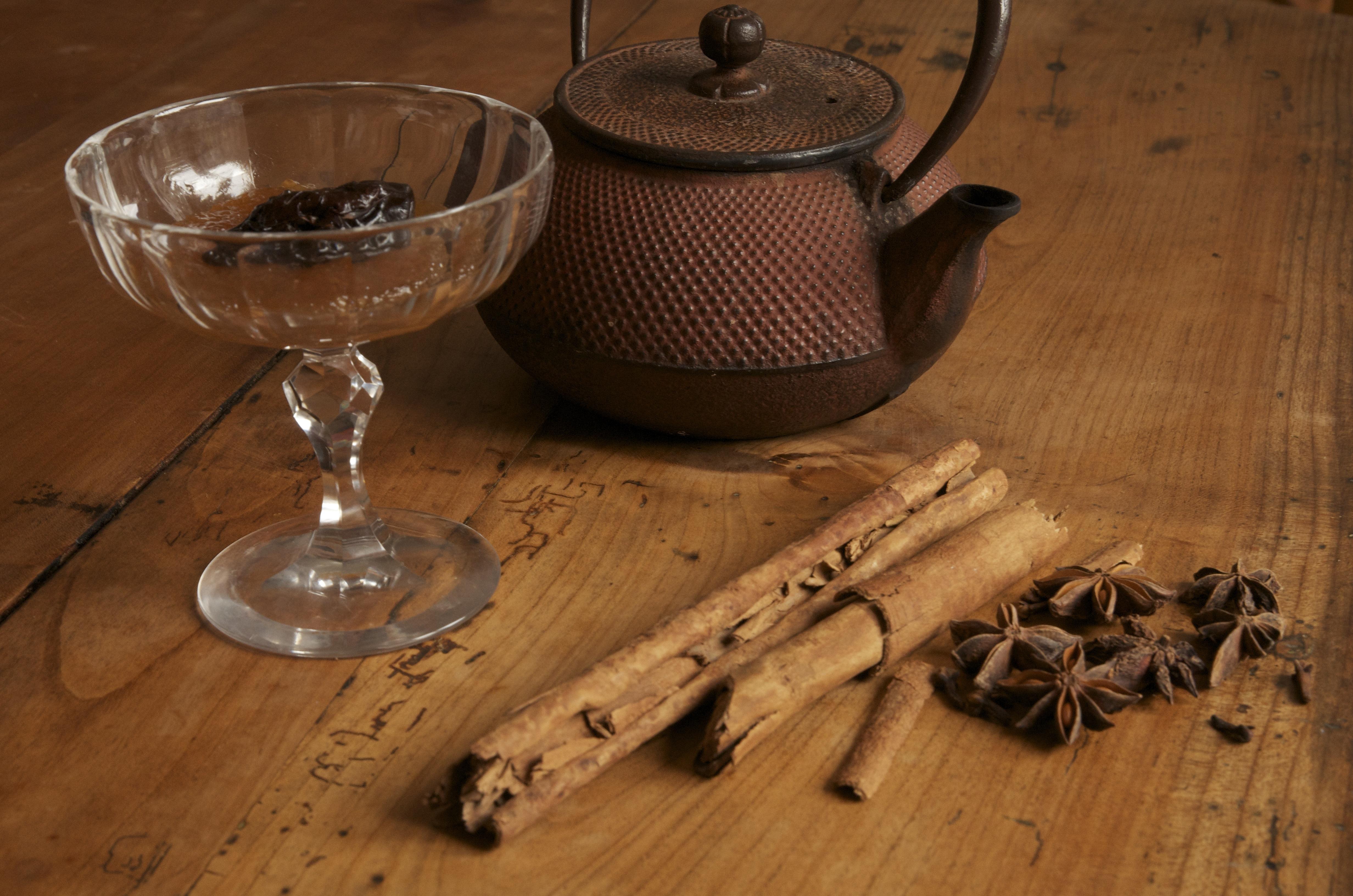 Pruneaux au thé