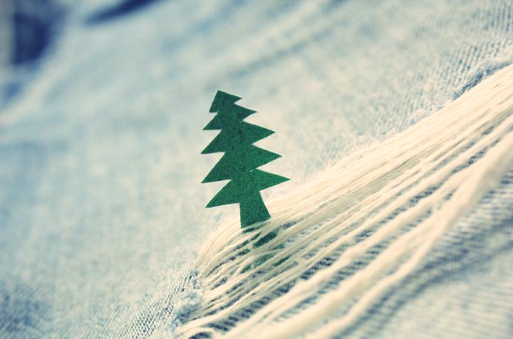Un sapin de Noël au naturel
