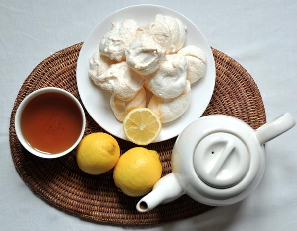Meringues au citron