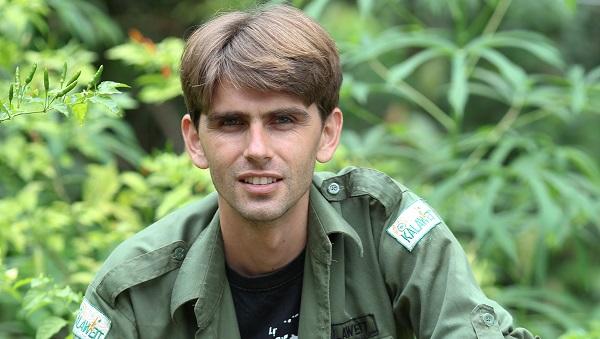 L'homme qui sauve les gibbons