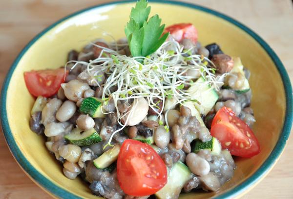 Salade de légumineuses