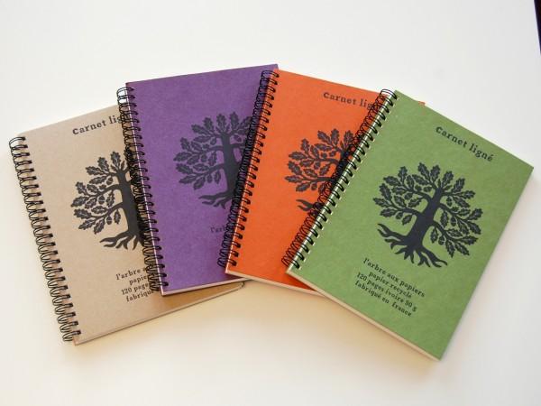 """Les cahiers """"L'Arbre aux Papiers"""""""