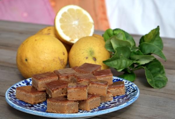 Gâteau citron-noix