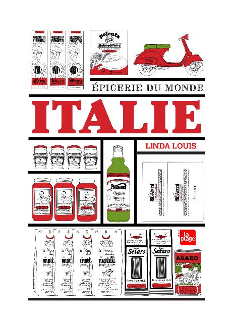 Epicerie du Monde, Italie, de Linda Louis