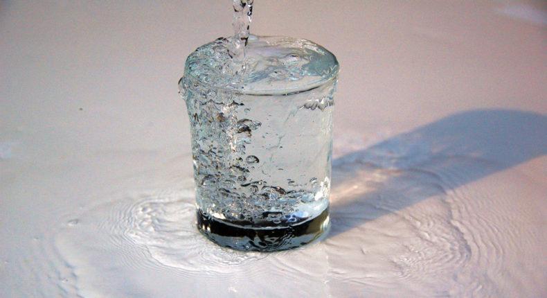 Fontaine à eau gazeuse