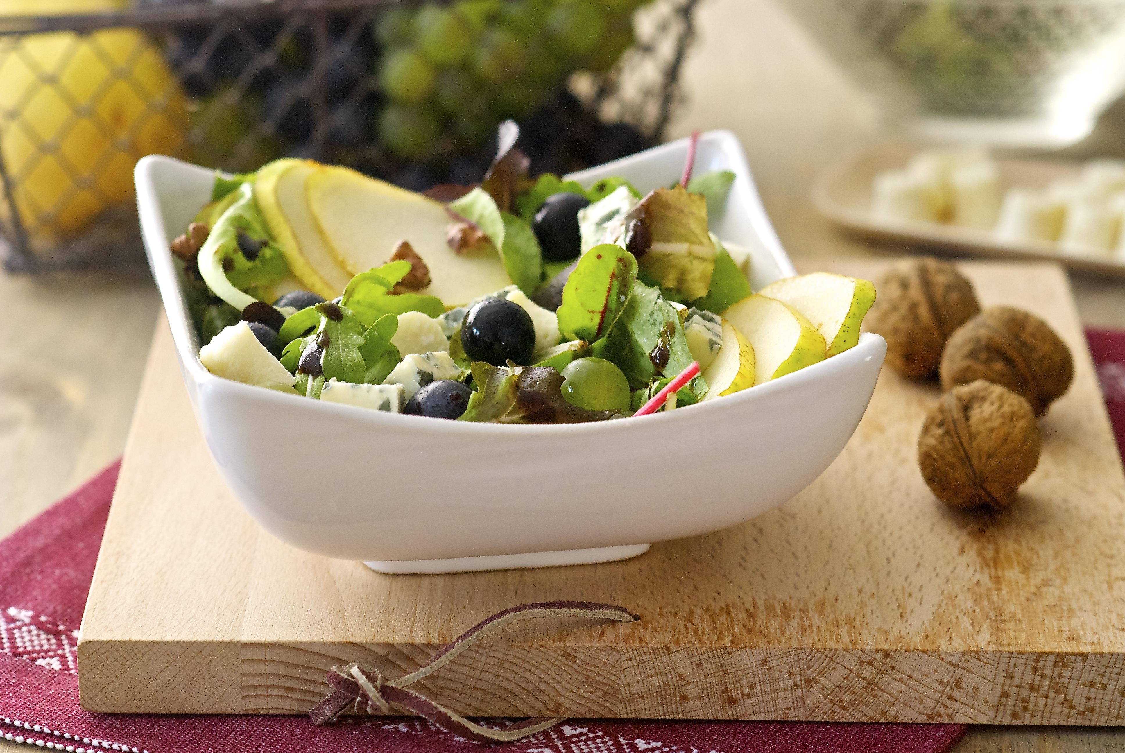 Salade d'automne sucrée-salée