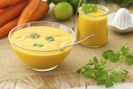 Petite soupe de carottes aux épices