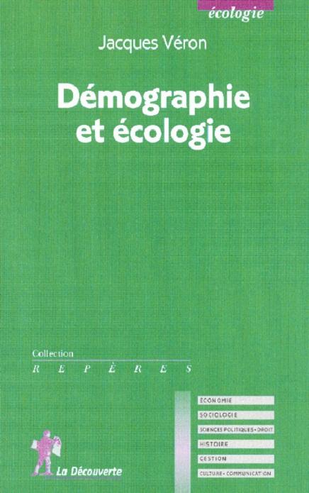 Démographie et écologie, de Jacques Véron