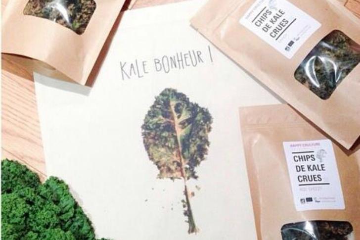 Les chips de kale Happy Crulture vont vous faire craquer !