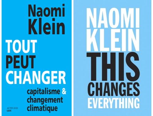Tout peut changer, de Naomi Klein