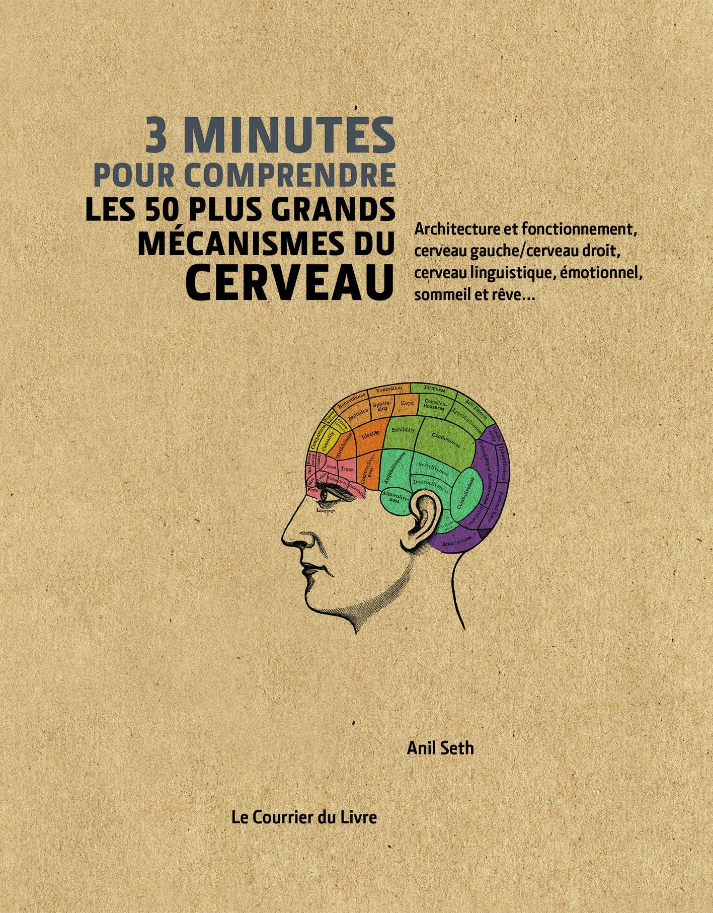 3 minutes pour comprendre les 50 plus grands mécanismes du cerveau, d'Anil Seth