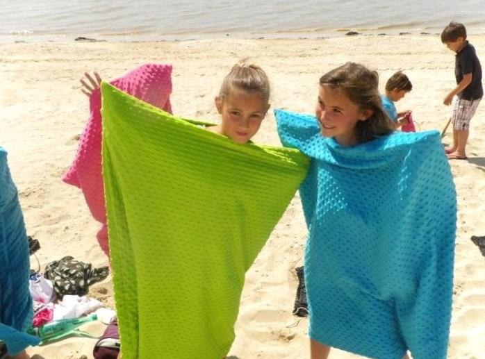 La serviette de bain multi-usages Ô'Sec des Filles de la Mer