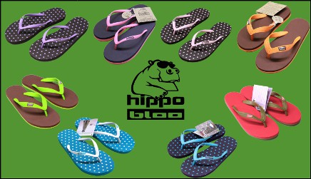 Les tongs Hippobloo