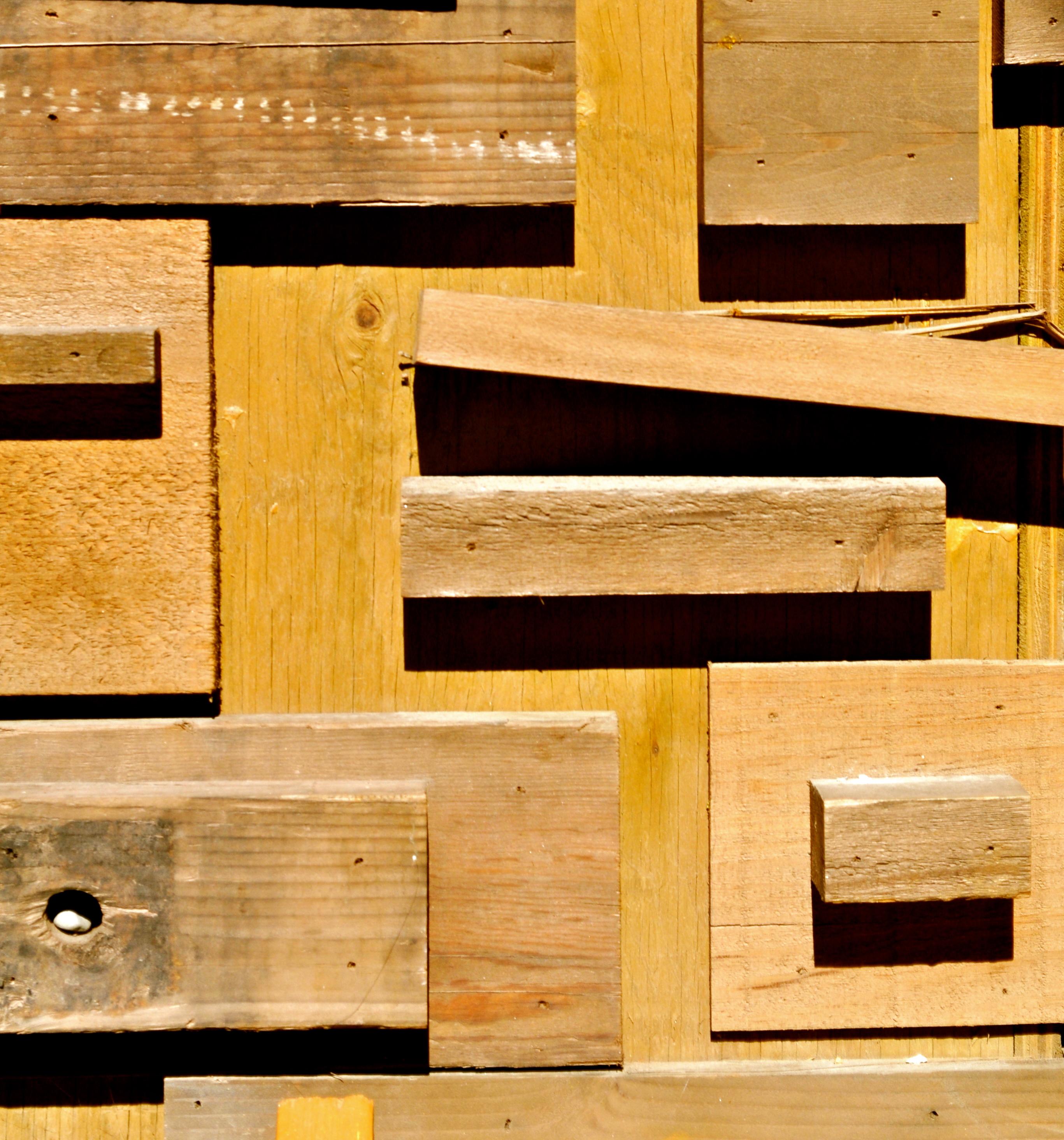 Un habitat tout en bois