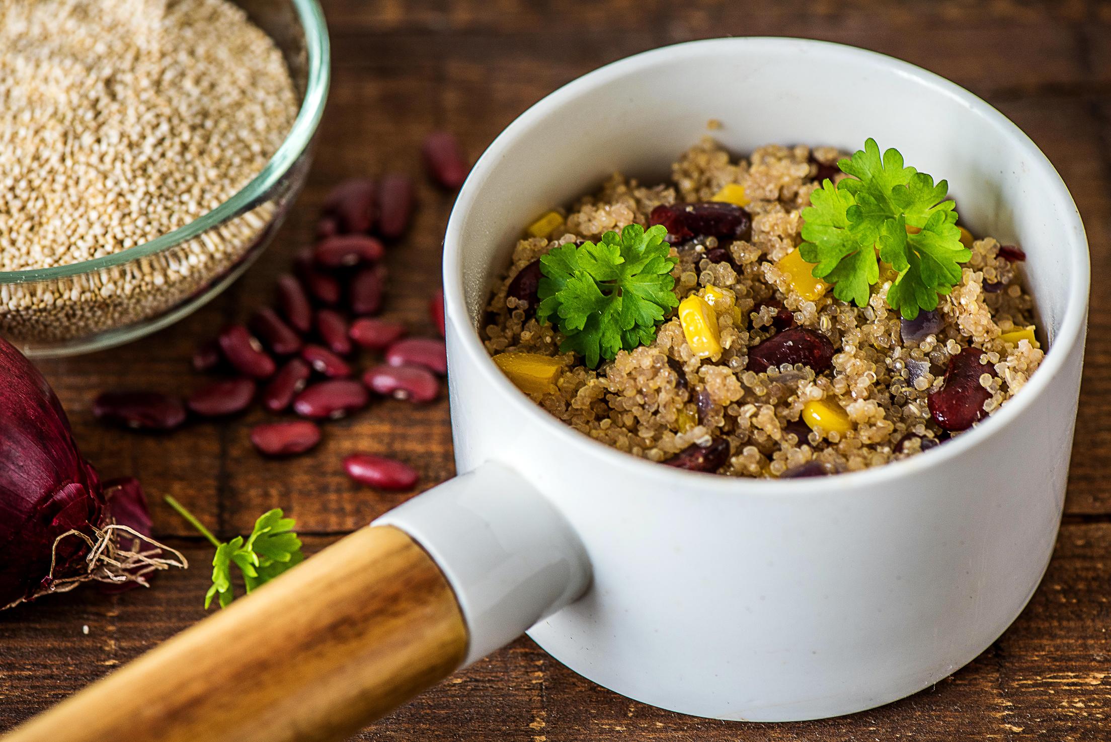 Ragoût végétarien au quinoa