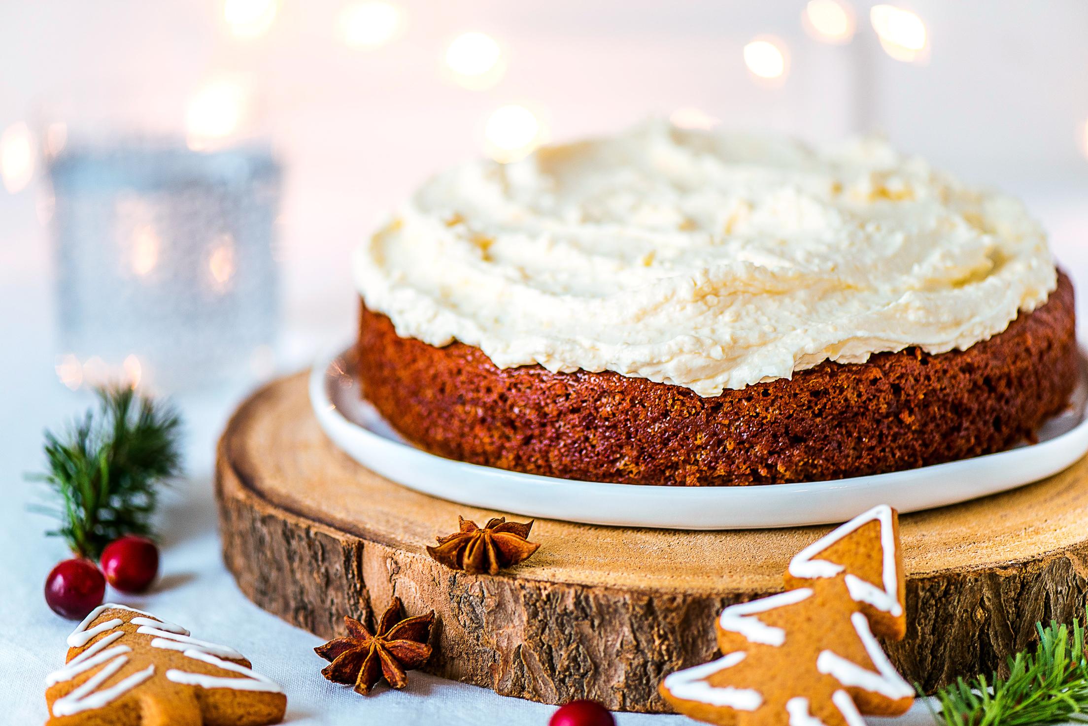 Gâteau aux épices de Noël