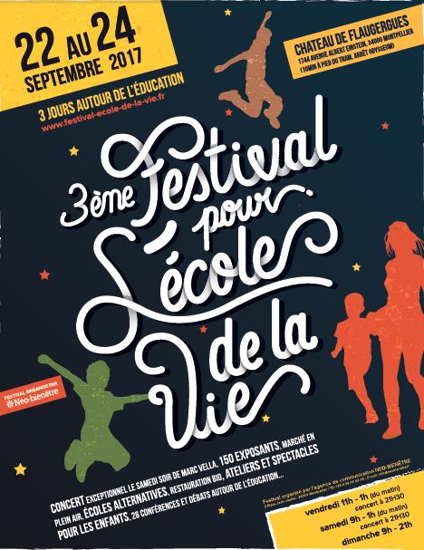 Le Festival pour l'école de la vie