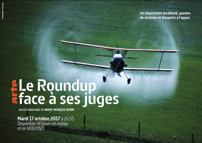 Le Roundup face à ses juges de Marie-Monique Robin.