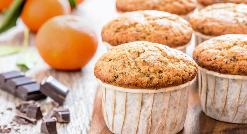 muffins à la clémentine et aux pépites de chocolat - DR Mon Quotidien Autrement - E. Montuclard