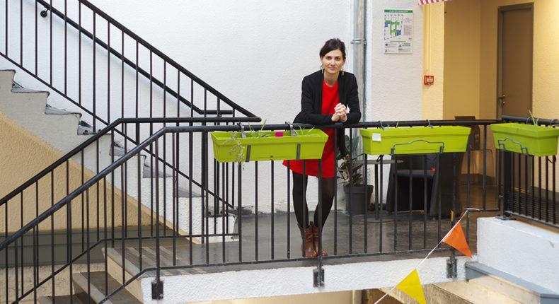 Helène Hugot a créé l'école Bonvena à Lyon © DB