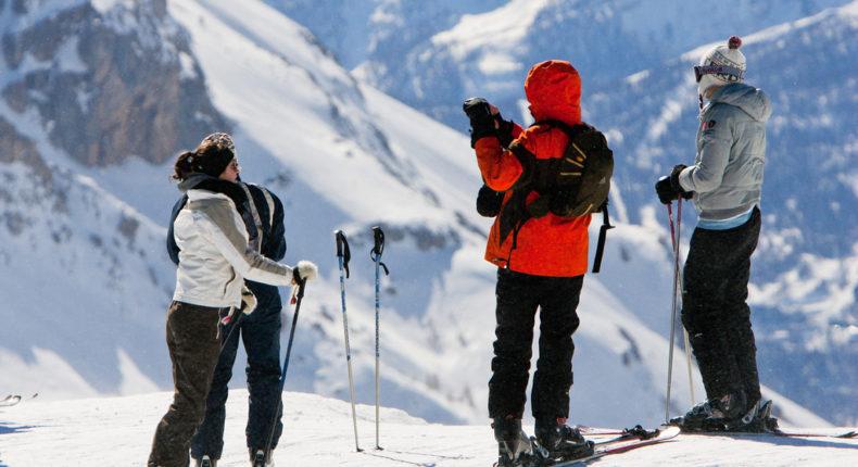 La station de ski de Serre Chevalier © Office de tourisme de Serre Chevalier