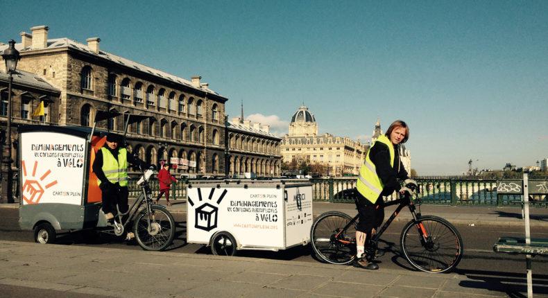Un déménagement solidaire et écolo avec l'asso Carton Plein © Carton Plein