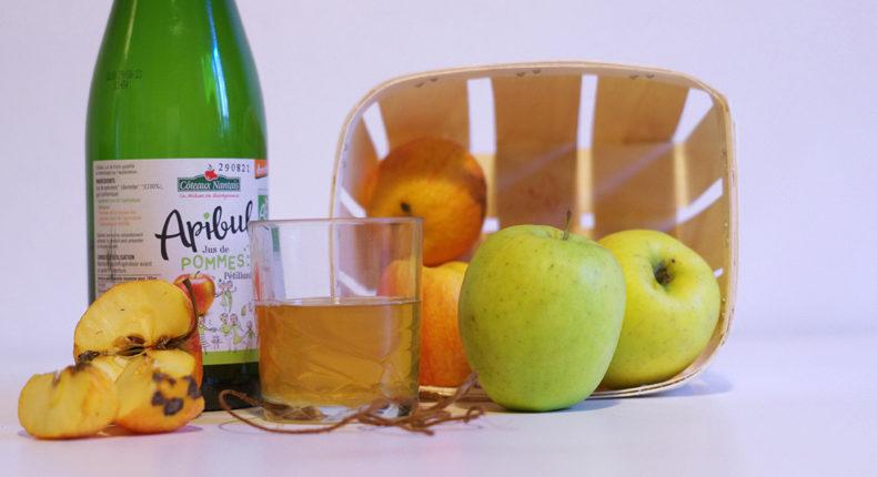 Le pétillant aux pommes Apibul des Côteaux Nantais © DB