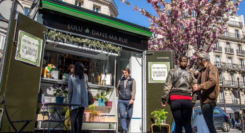 Lulu dans ma rue, kiosque Saint-Paul © Nicolas Tronc